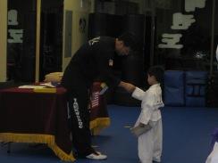 Caleb Yellow Belt Test 2009-11-07 011