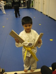 Caleb Yellow Belt Test 2009-11-07 025