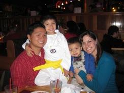 Caleb Yellow Belt Test 2009-11-07 028
