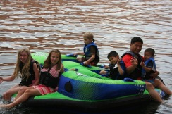 Lake Powell Day 2 Tube Fun 2010-09-07 003