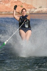 Lake Powell Day 5 Skiing 2010-09-10 009