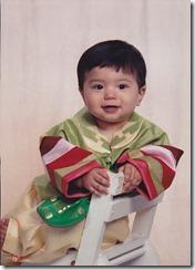 Caleb 1 year old