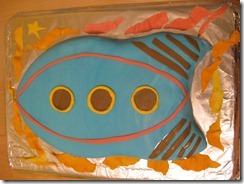 Caleb's Rocket Cake Practice 2011-07-20 001