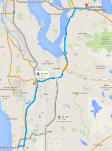 Carpool Federal Way to Bellevue
